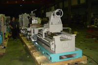 Annnyang 40 inch swing lathe end view