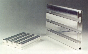 Mitee-Bite aluminum sub-plates or sub-tables