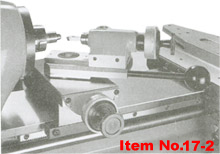 radius turning attachment for Cyclematic lathes
