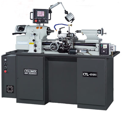 Cyclematic CTL618e with automatic digital threading cycles