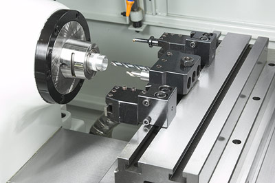 Cyclematic CT-1118 CNC gang tooling lathe