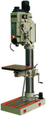 "Erlo 2"" capacity geared head floor drill press with automatic feeds."