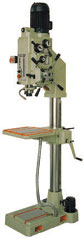 Erlo geared head column drill press with automatic feeds