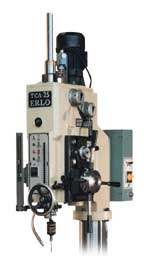 Erlo's automatic tapping cycle attachment for drill presses