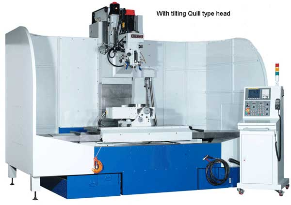 Topwell TW-4080Q bed type CNC Milling machine
