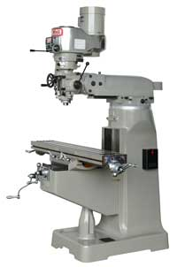 Topwell 2VS and 3VS bridgeport style milling machines