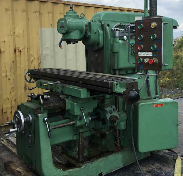 Used Mills Bridgeport Mill Vertical Mills Cnc Mills Horizontal >> Used And Rebuilt Milling Machines For Sale