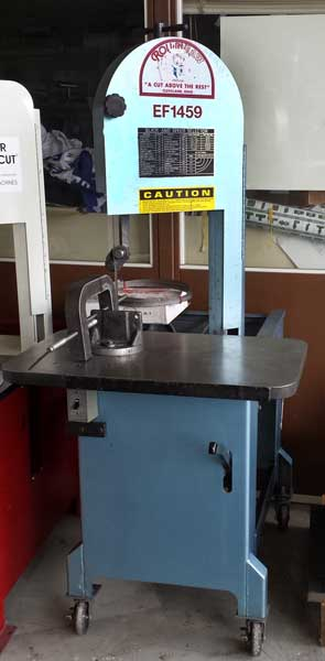 Used Roll In Band Saw